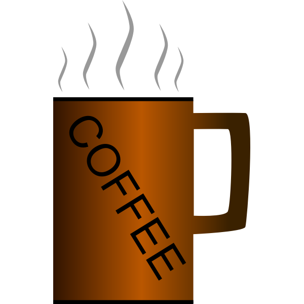 Coffee cup vector graphics