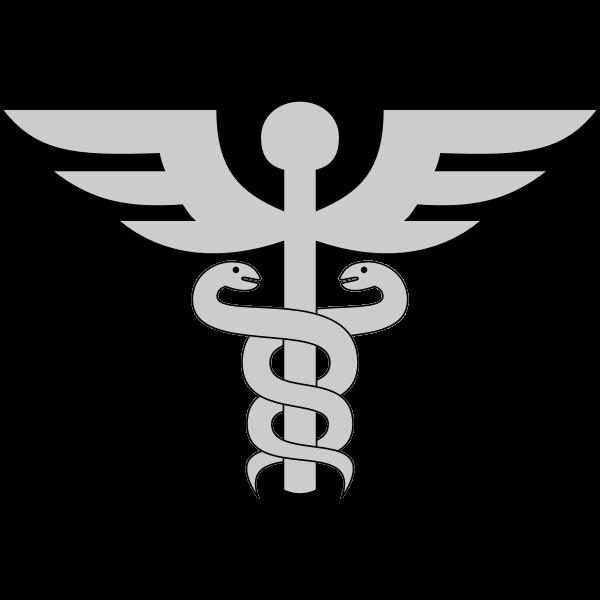 Gray medicine symbol