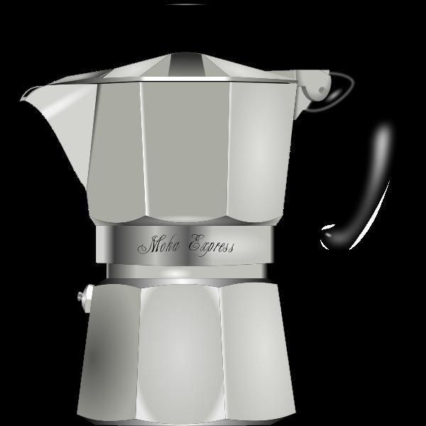 Coffee maker vector graphics
