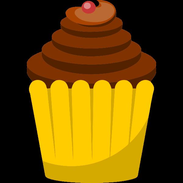 Cherry cupcake image