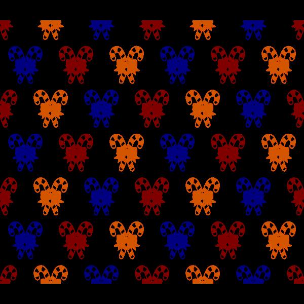 Candy cane pattern