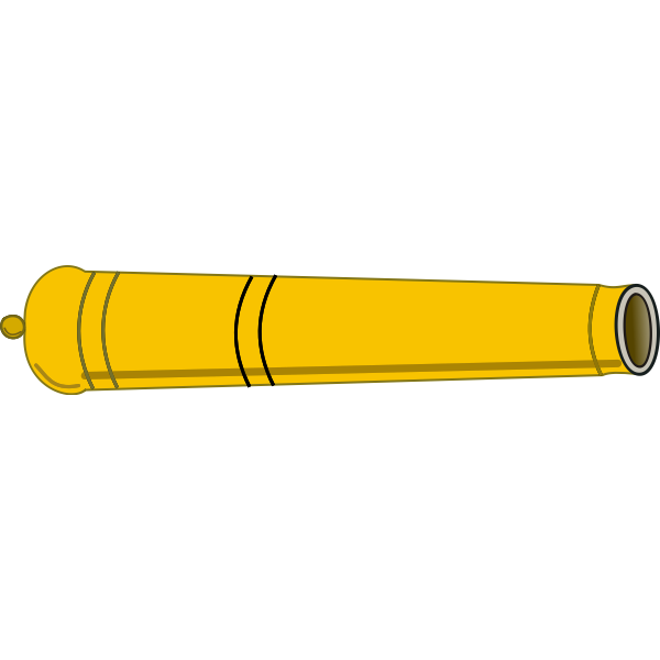 Yellow cannon