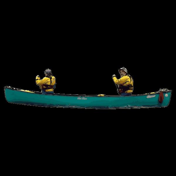 Canoeists Ed n Carol