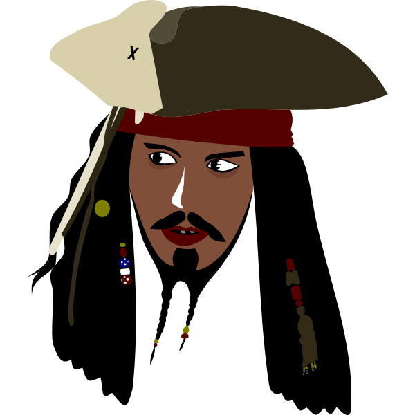 Captain Jack Sparrow by Rones