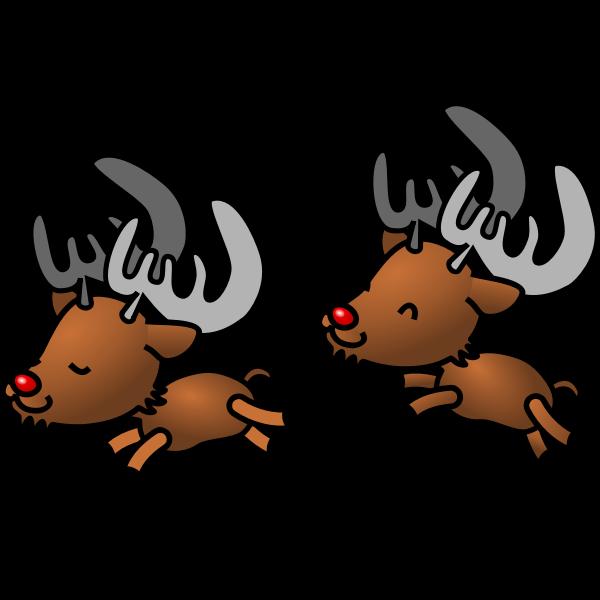 Reindeer vector cartoon