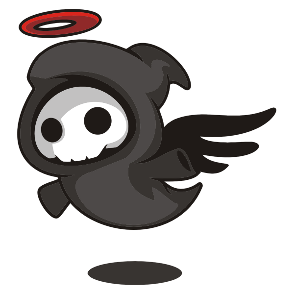 Cartoon Angel of Death