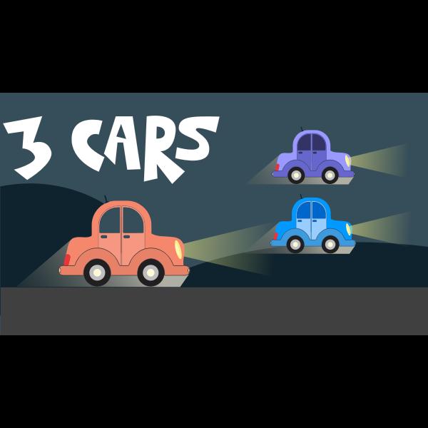Cartoon Car Landscape remix
