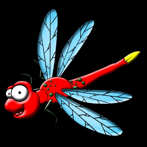 Cartoon dragonfly-1576143694