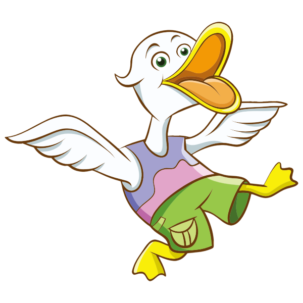 Cartoon Duck-1574955928