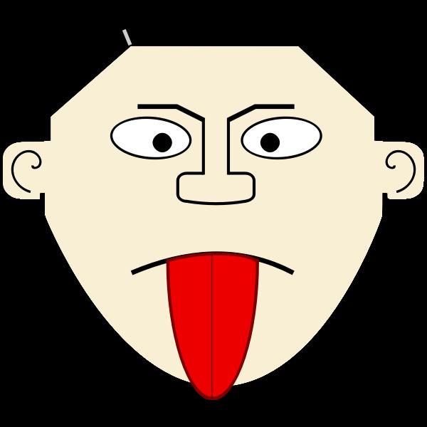 Cartoon Tongue