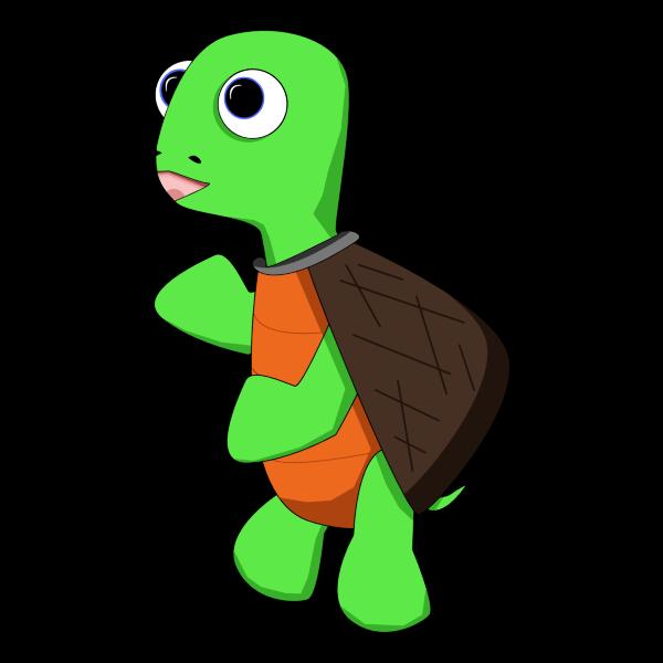 Cartoon Turtle 2