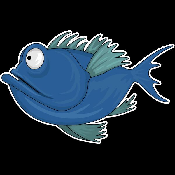 Cartoon Fish 2