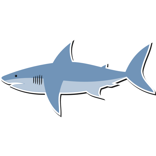 Cartoon Shark 1576143154 Free Svg