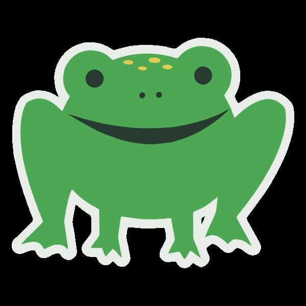 Cartoony Frog