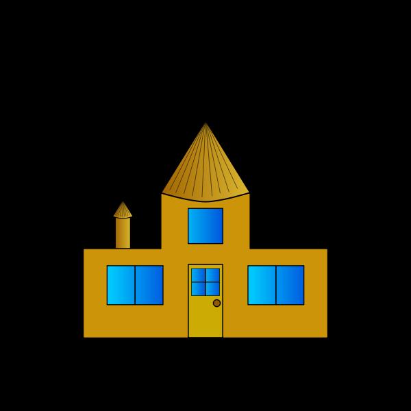 Casa antigua dorada