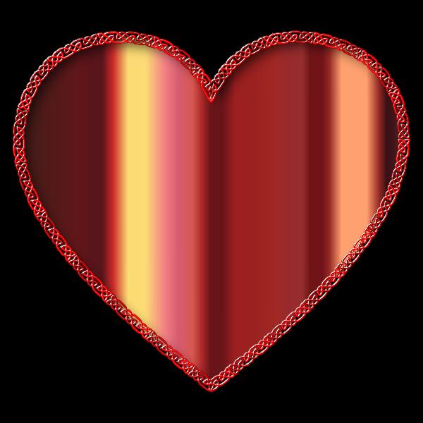 Celtic Knot Heart Enhanced