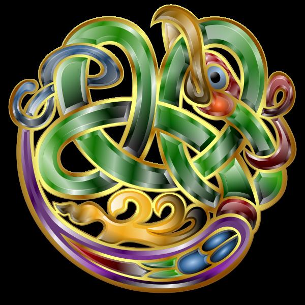 Celtic Ornament v7 by Merlin2525.svg