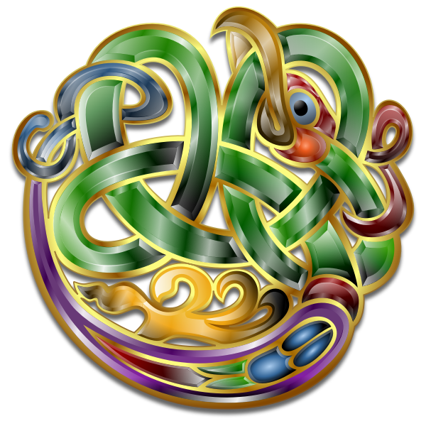 Celtic Ornament v7 by Merlin2525.svg