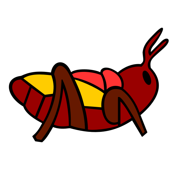 Colorful bug image