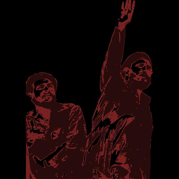 Che Guevara and Fidel Castro vector image