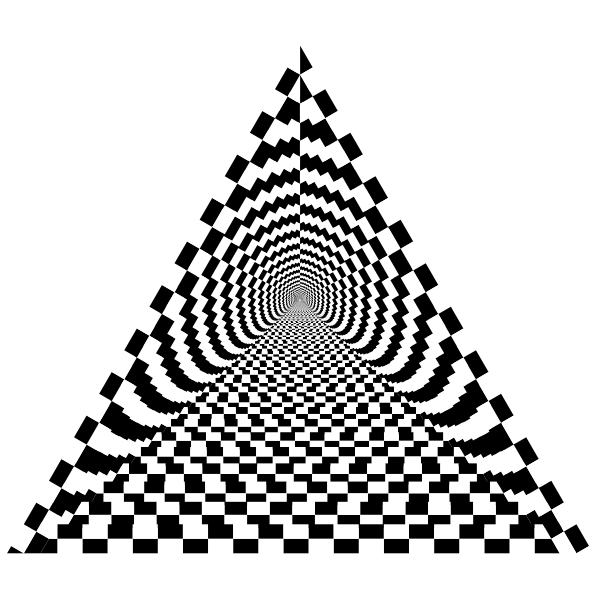 Checkerboard Pyramid
