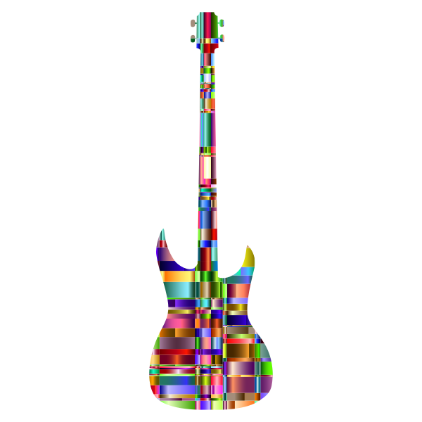 Checkered Chromatic Guitar