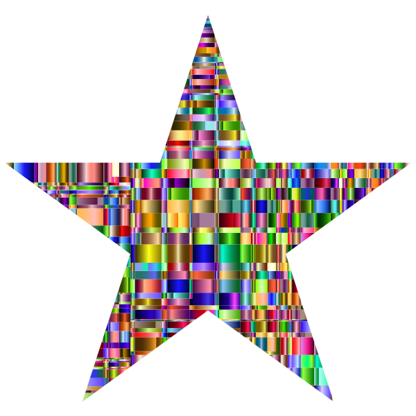 Checkered Chromatic Star