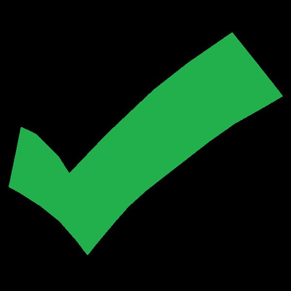 Green check mark | Free SVG