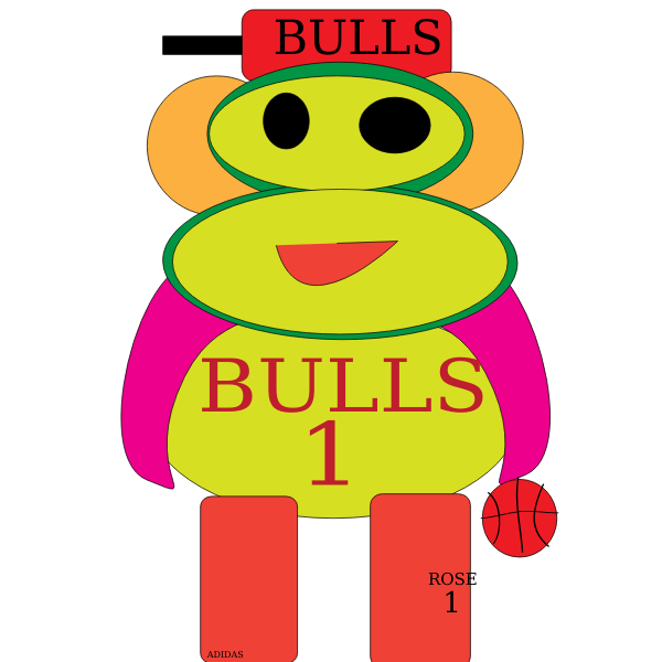 Chicago Bulls Monkey