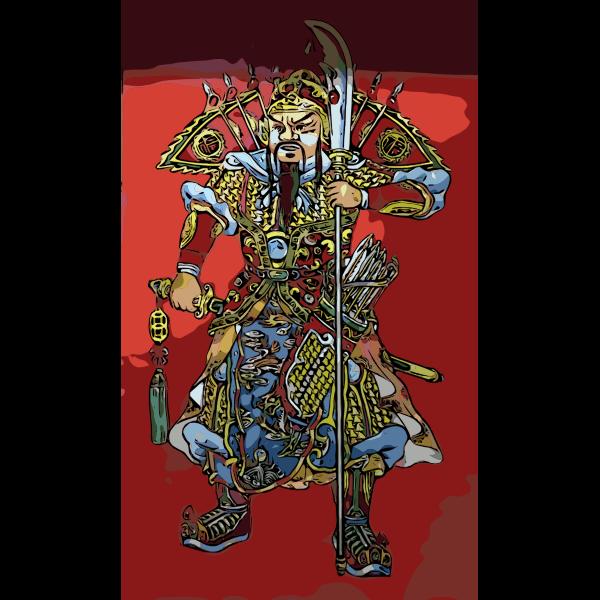 Chinese buddhist warrior 2016022217