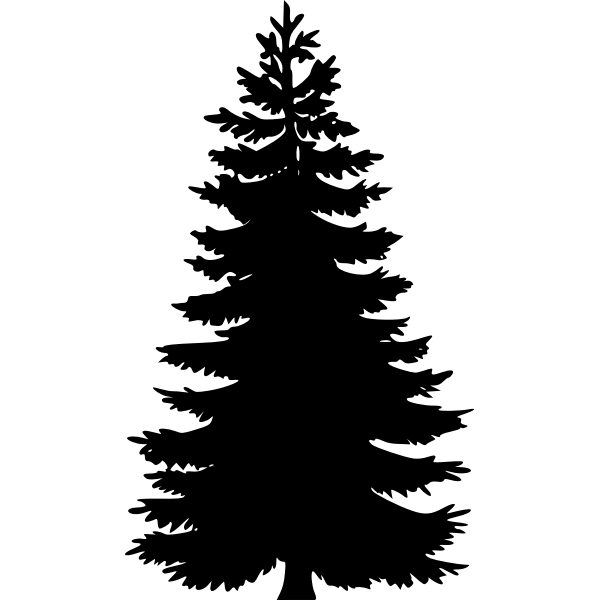 Tree silhouette vector art