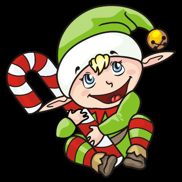 Christmas Elf illustration