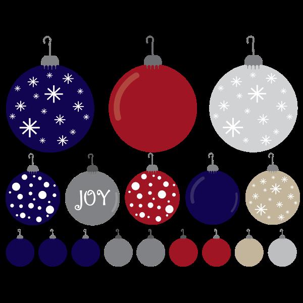 Christmas Ornaments Set
