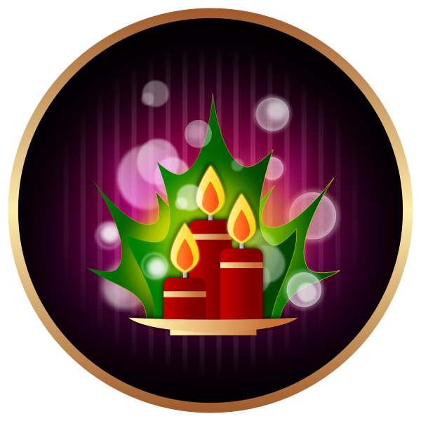 Christmas icon vector image