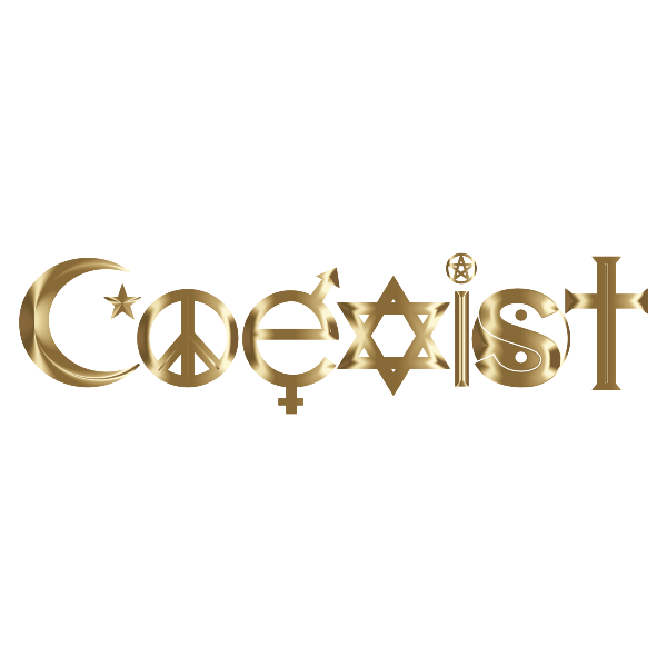 COEXIST Text With Graphic Effects #21