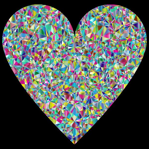 Chromatic Crystal Heart