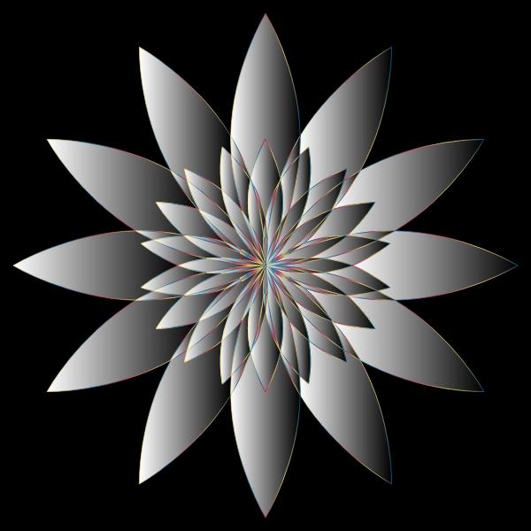 Chromatic Flower 16