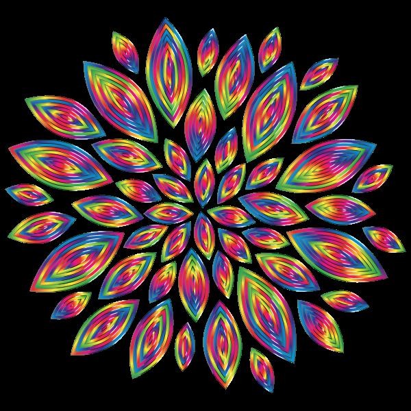 Chromatic Flower Petals 11