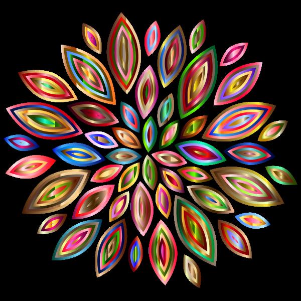 Chromatic Flower Petals 2