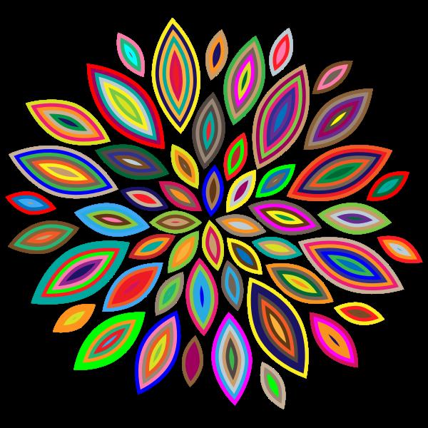 Chromatic Flower Petals 3