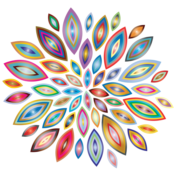 Chromatic Flower Petals 4