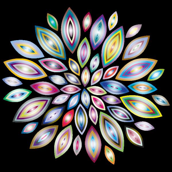 Chromatic Flower Petals 5
