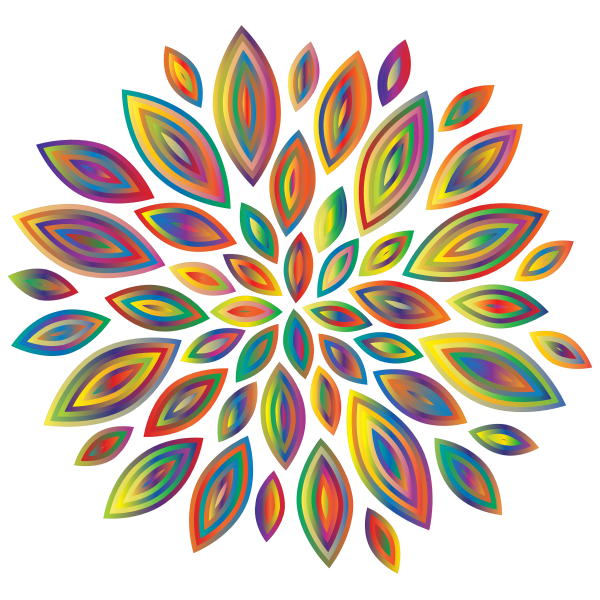 Chromatic Flower Petals 6