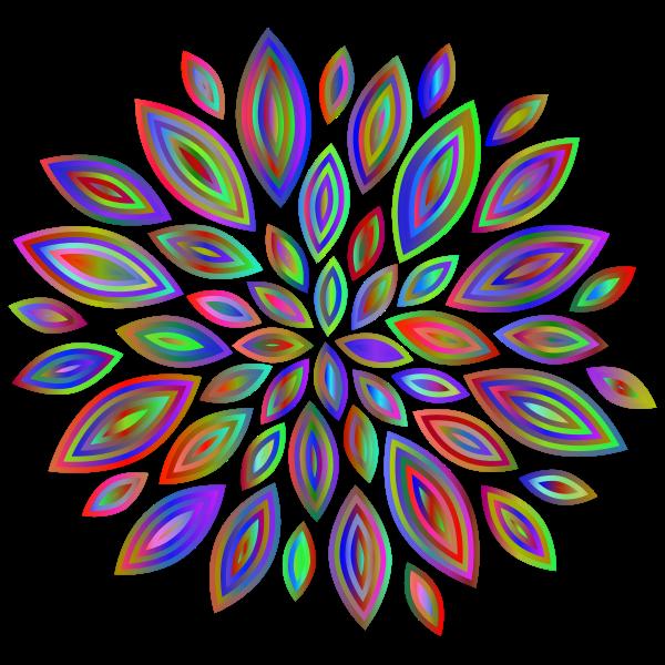 Chromatic Flower Petals 7