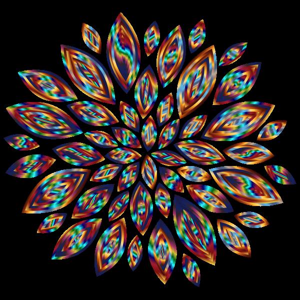 Chromatic Flower Petals 9