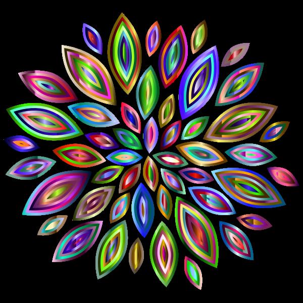 Chromatic Flower Petals