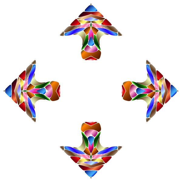 Chromatic Geometric Arrows 2