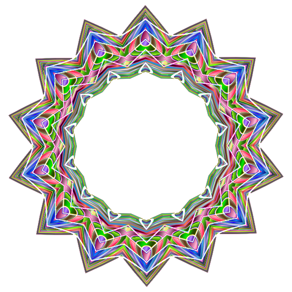 Chromatic Geometric Frame