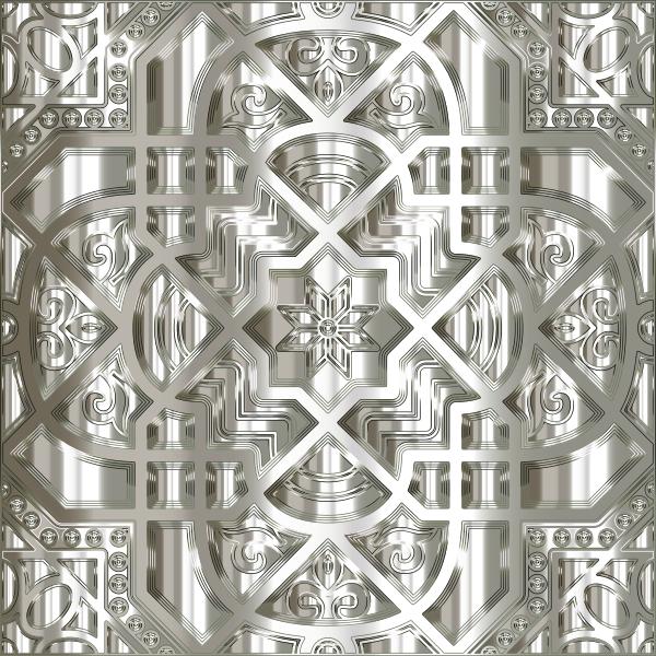 Chromatic Geometric Line Art 22