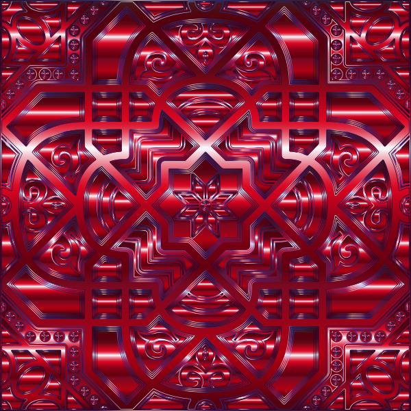 Chromatic Geometric Line Art 24
